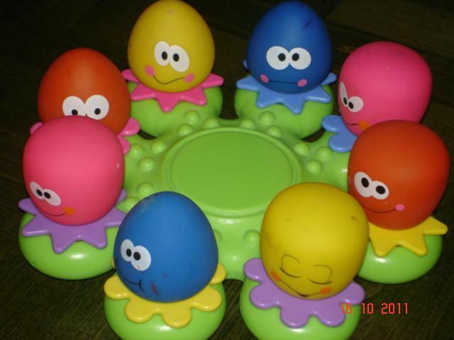 igračke za špricanje u kadi
