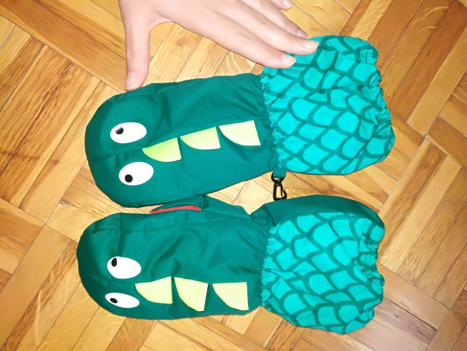 Rukavice krokodili 110 - 116 H&M