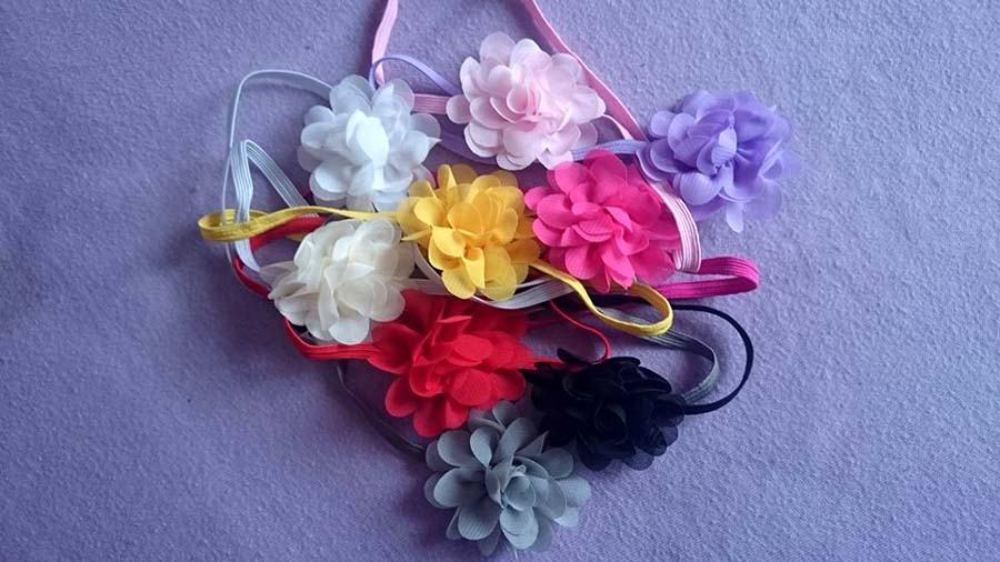 NOVE trake ružice za kosu glavu
