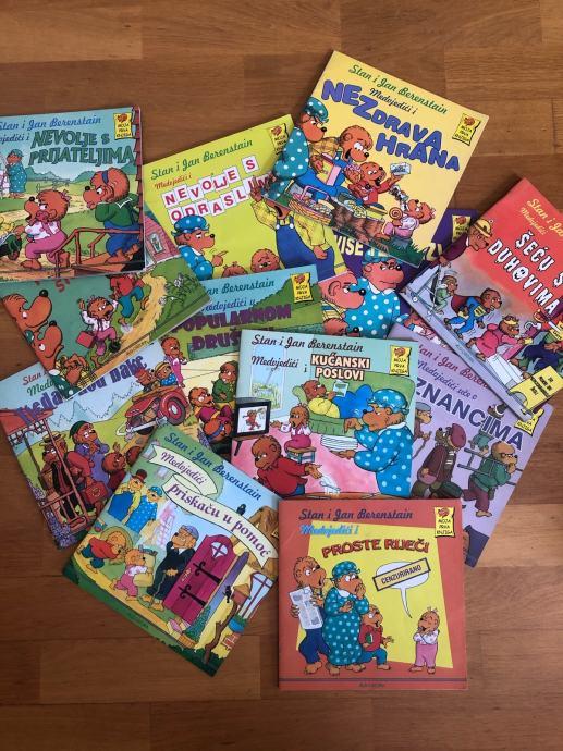 Knjige o medvjedićima