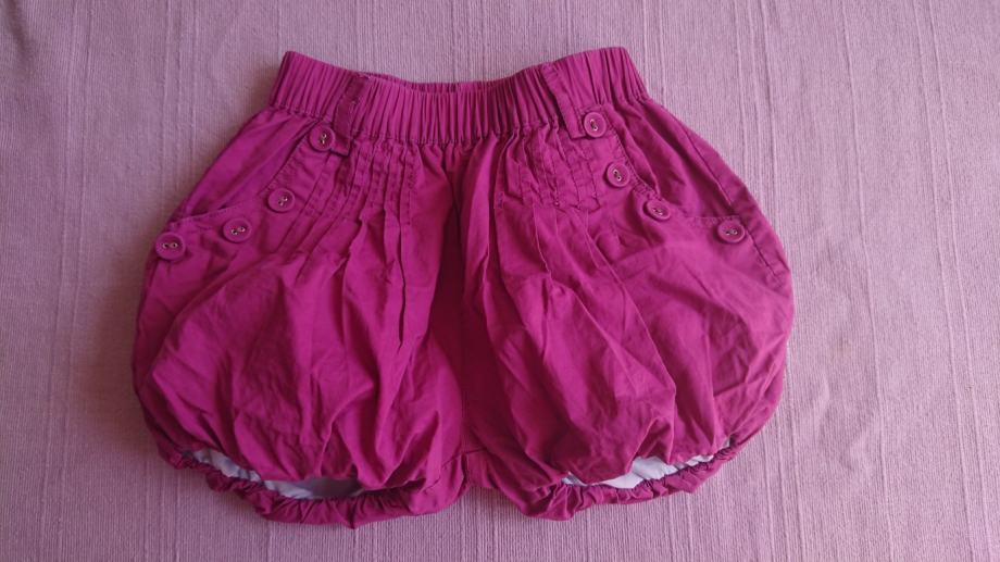 Kratke ljetne pufaste hlače za curice br. 110 / 116