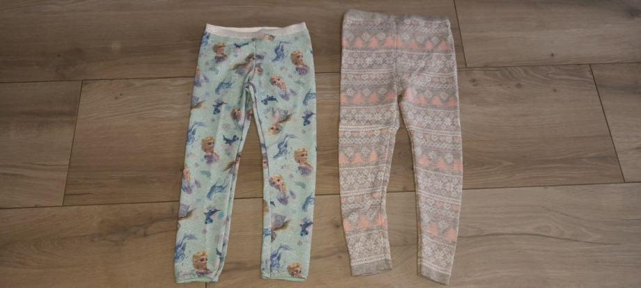 Odjeća za curu - 116 (LOT 9) - trenirka (hlačice), tajice