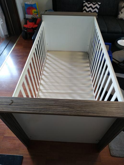 Dječji krevetić Adax zebra