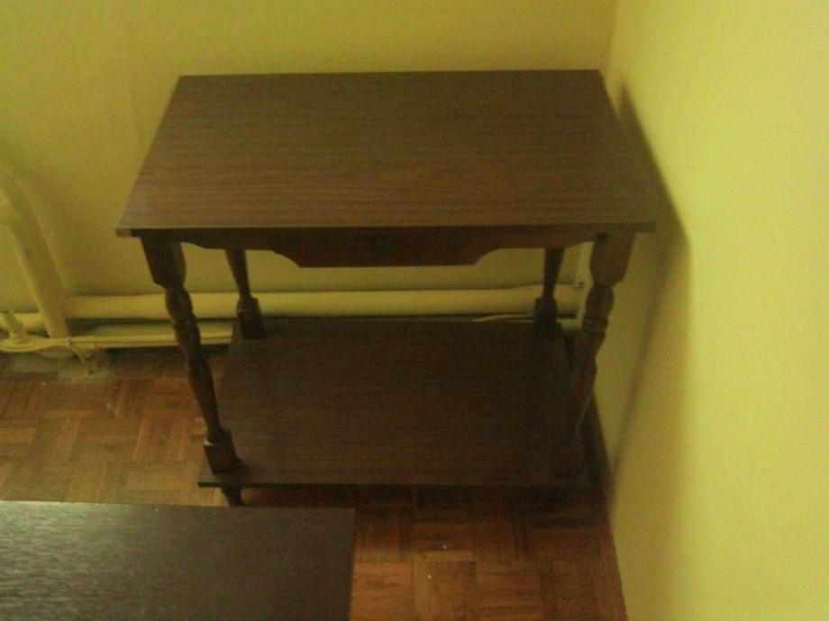 Stolić za tv ili pisač s jednom ladicom