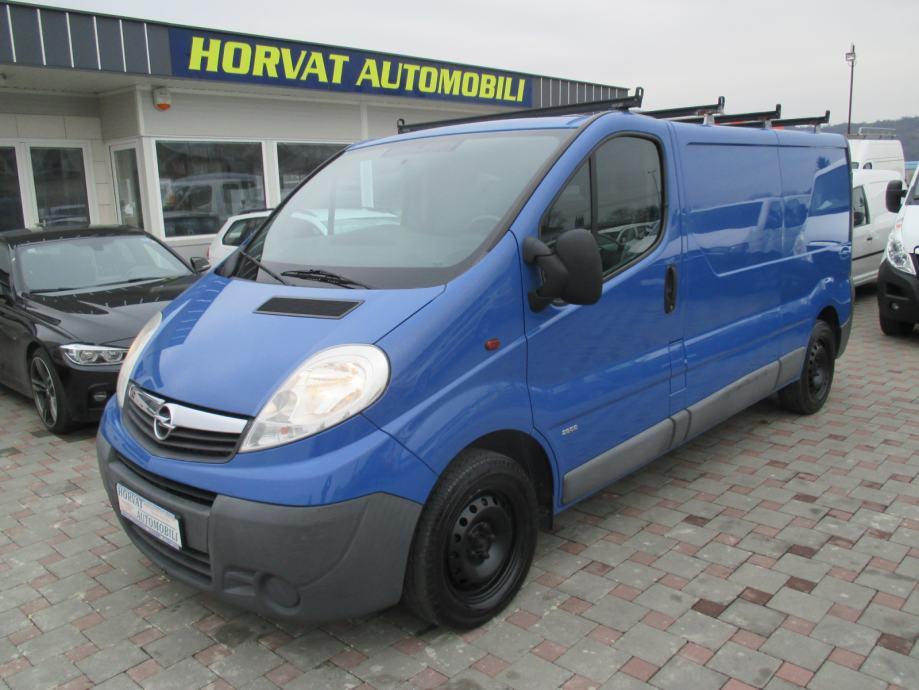 Opel Vivaro 2.0 CDTI L2H1; Navigacija; Klima; Park. senzori; El. paket, 2012 god.