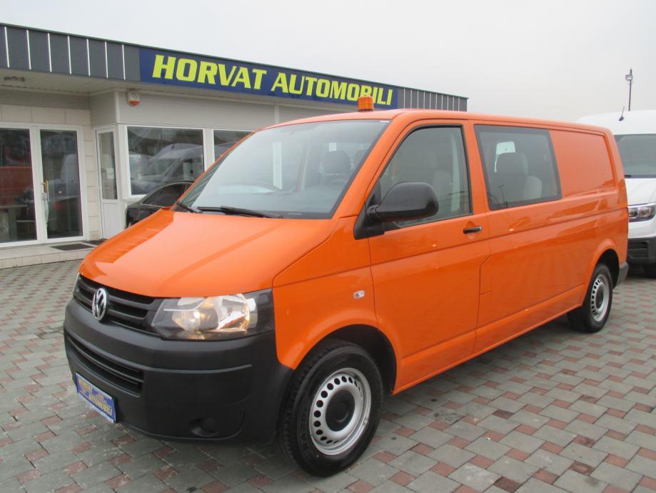 VW T5 Furgon Mixto 2,0 TDI L2H1; N1; 6 sjed.; Klima; Garancija.., 2014 god.