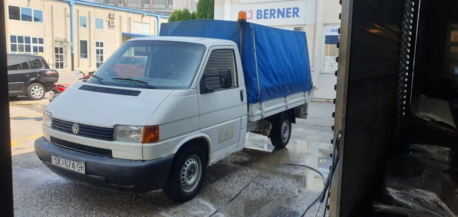 Vw Transporter Sanduk Sa Ceradom 2001 God