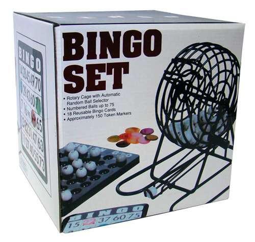 Bingo set, tombola, POTPUNO NOVO I ZAPAKIRANO…., dostava cijela HR