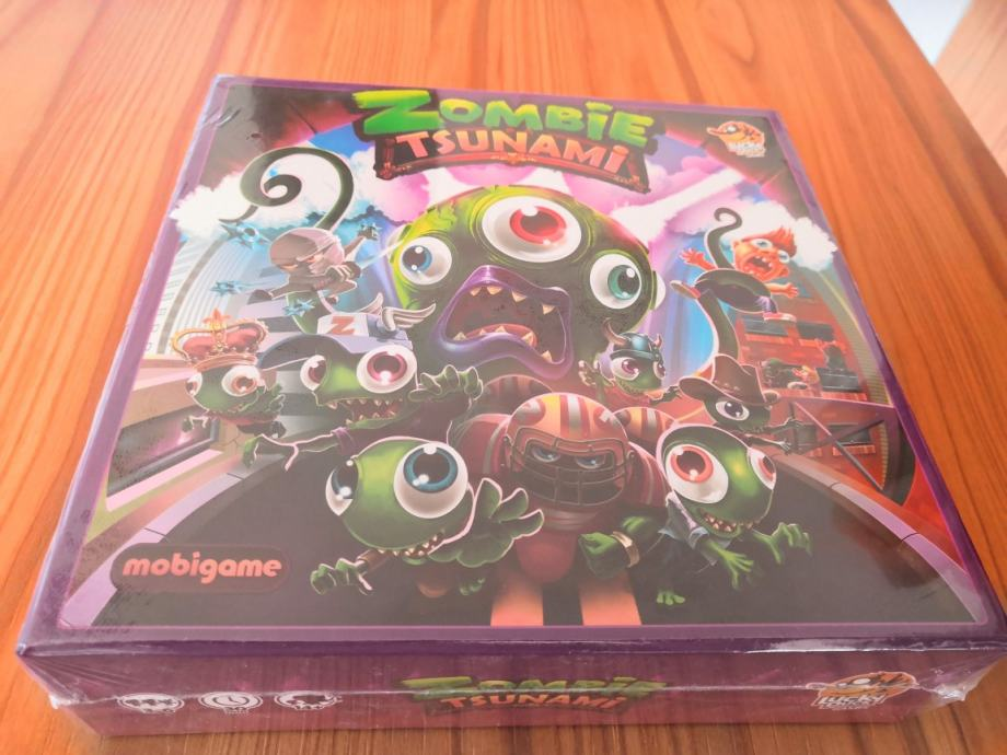 Board game Zombie Tsunami (novo)