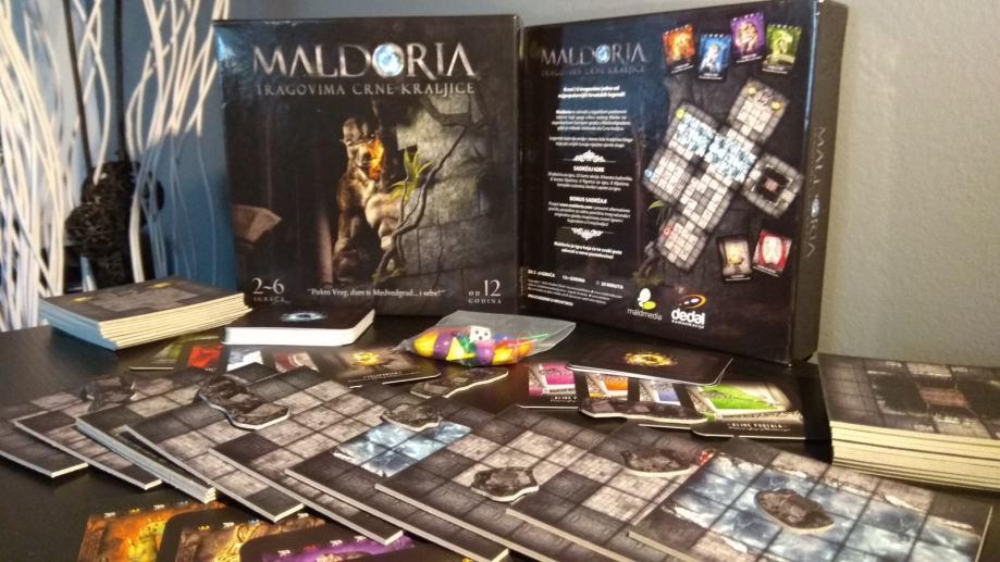 Maldoria - Tragovima Crne kraljice (Novo)