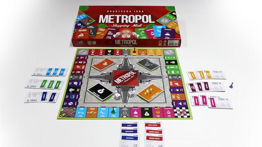 Monopol i Metropol, drustvene igre, NOVE , dostava cijela HR
