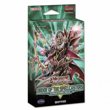 YU GI OH  ORDER OF THE SPELLCASTER STRUCTURE DECK