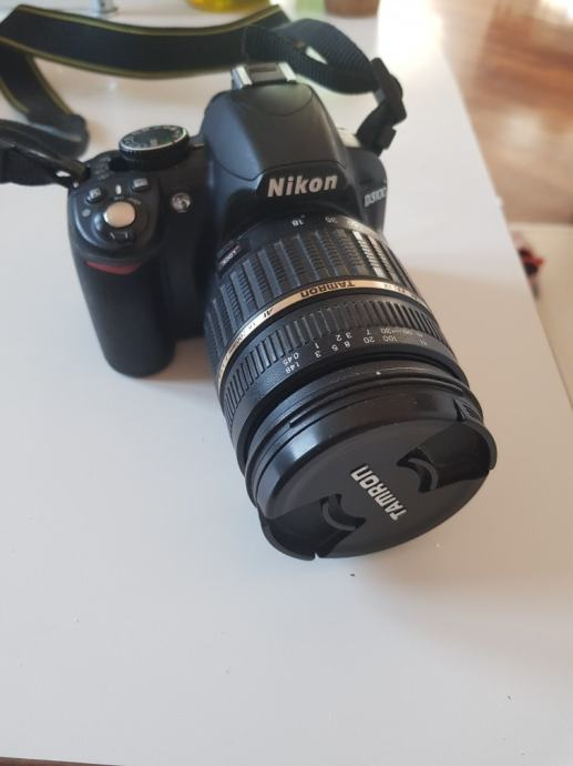 NIKON D3100 + Tamron 18-200 mm