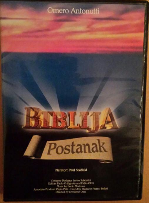 BIBLIJA - Postanak DVD original