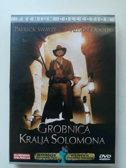 DVD film Grobnica kralja Solomona