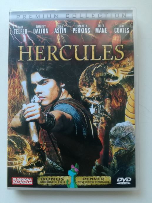 DVD film Hercules