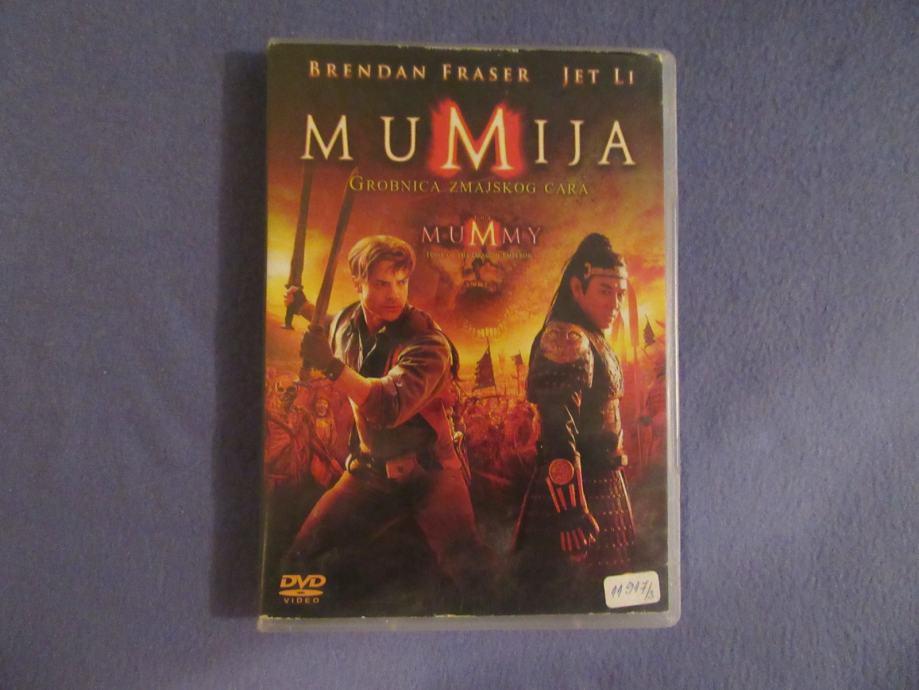 Dvd film Mumija - Grobnica zmajskog cara