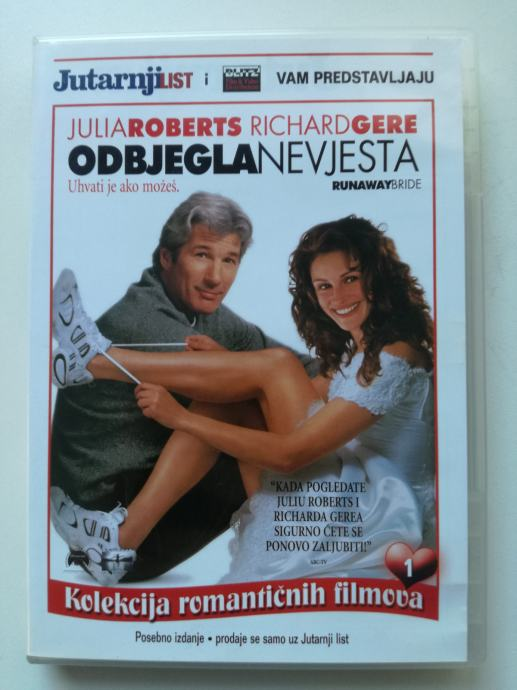 DVD film Odbjegla nevjesta
