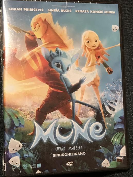 DVD / Mune: Čuvar mjeseca = Mune, le gardien de la lune (2015.) / Pula