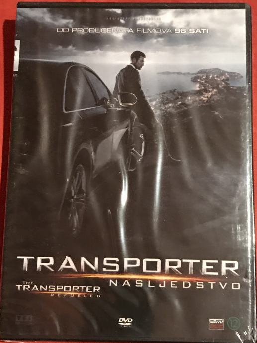 DVD / Transporter nasljedstvo = The Transporter Refueled (2015.) /Pula