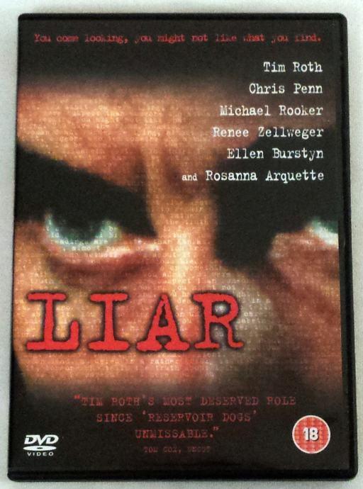Liar (Lažljivac) - DVD film