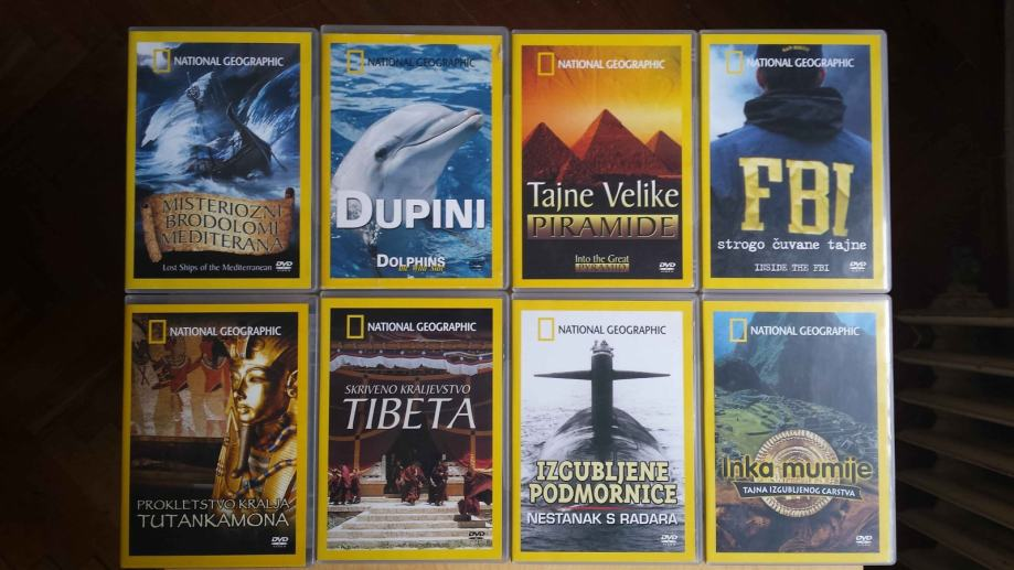 National Geographic - dokumentarne DVD filmove