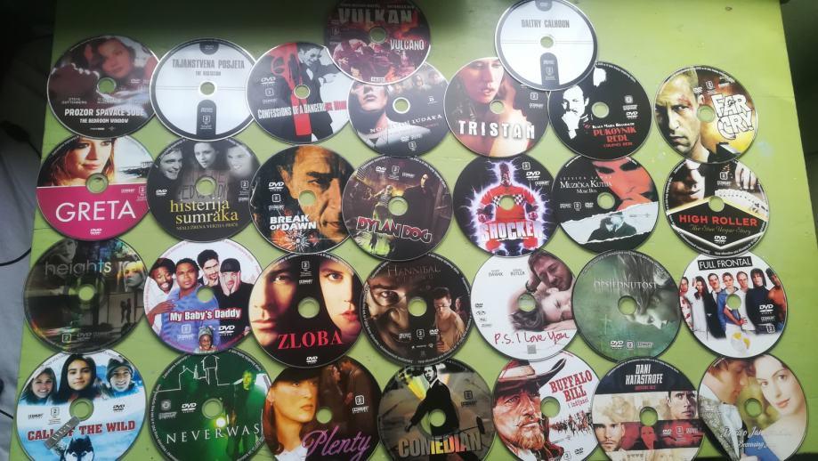 Prodajem original dvd cd filmove. Komad 20kn ili komplet 150kn
