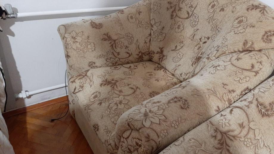 Trosjed dvosjed fotelja (komplet namjestaj)