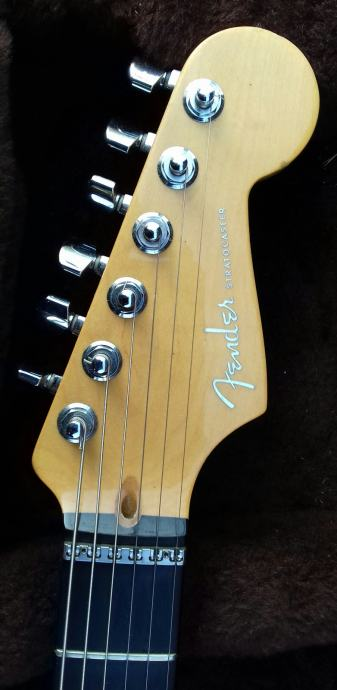 Fender American Stratocaster Deluxe QMT prod./mj.