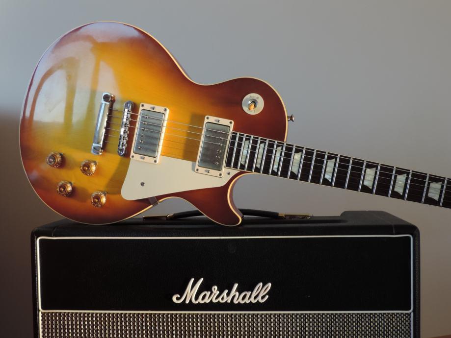 Gibson Les Paul V.O.S 1958 R8 Plain Top Ice Tea
