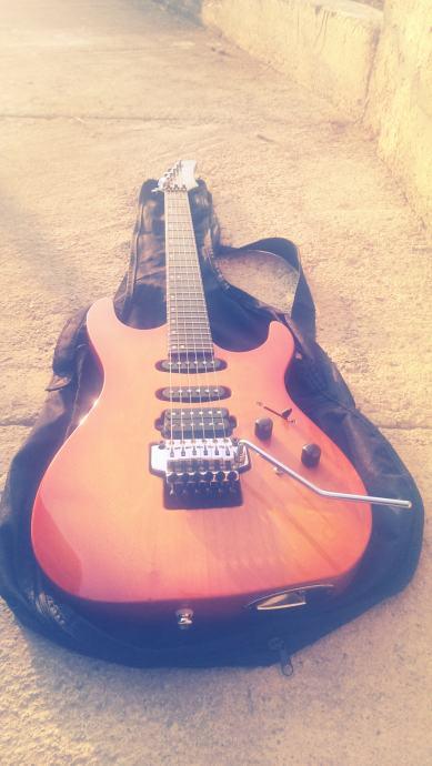 Hamer Centaura Slammer Series elektricna gitara + korg G3 procesor