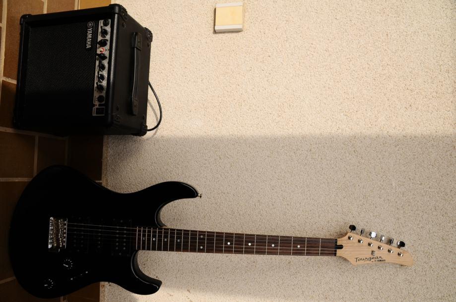 Yamaha  Tourgear električna gitara i pojačaloyamaha