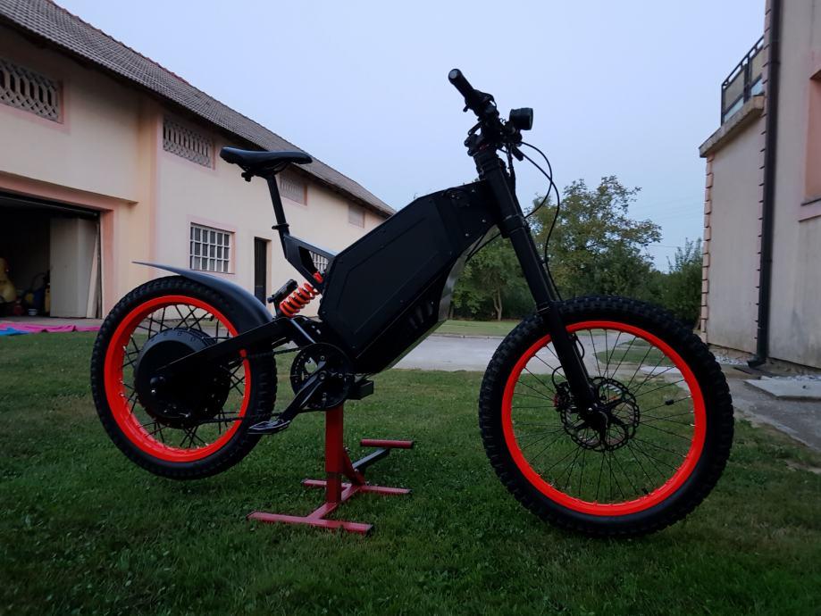 Električni bicikl 12kW.
