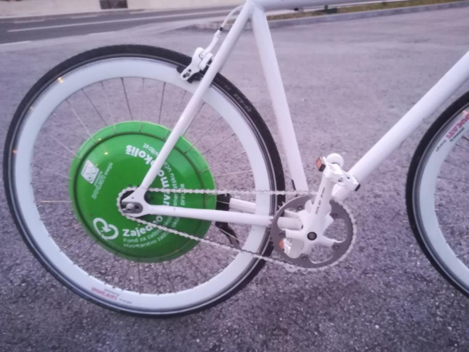 Električni bicikl FREE Duc Ducati energija