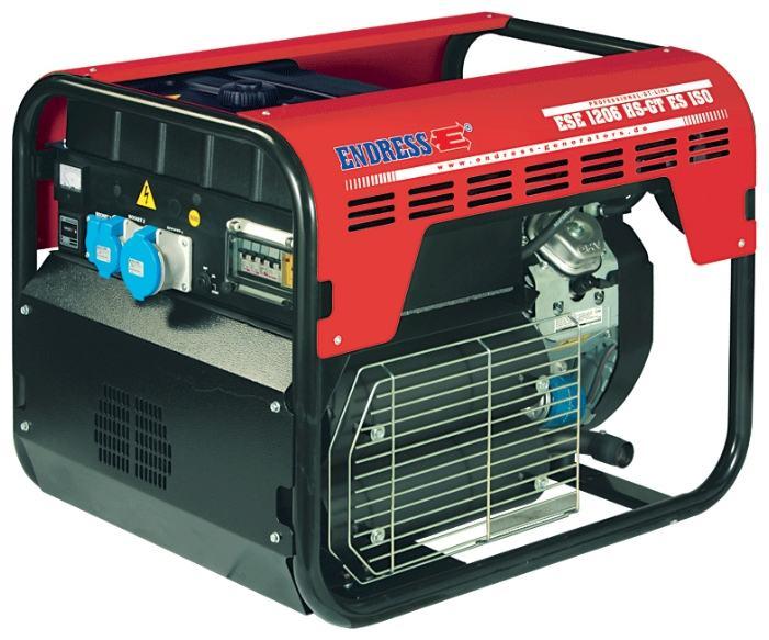 AGREGAT ZA STRUJU 9,1 kW benzin, monofazni, ENDRESS ESE 1206 HS-GT ES