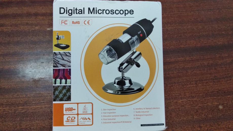 Mikroskop usb stereomikroskop mit monitor stativ mit