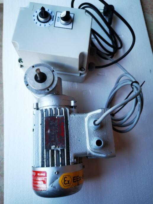 Elektromotor sa reduktorom i frekventni pretvarač 220V