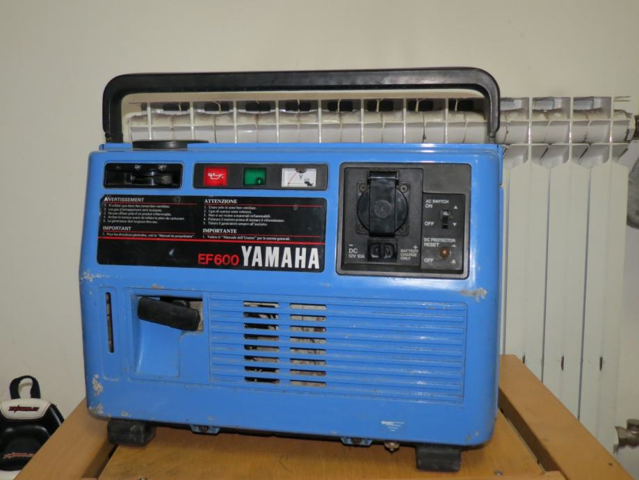 Generator yamaha ef600 for Ef600 yamaha generator