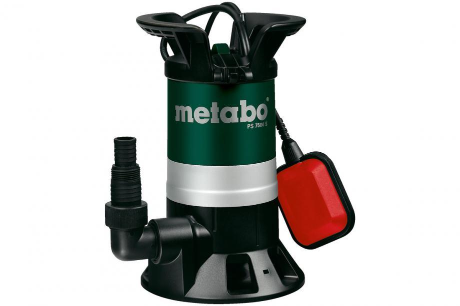 METABO potopna pumpa PS 7500 S za otpadne vode -450W- 7500l/h - AKCIJA