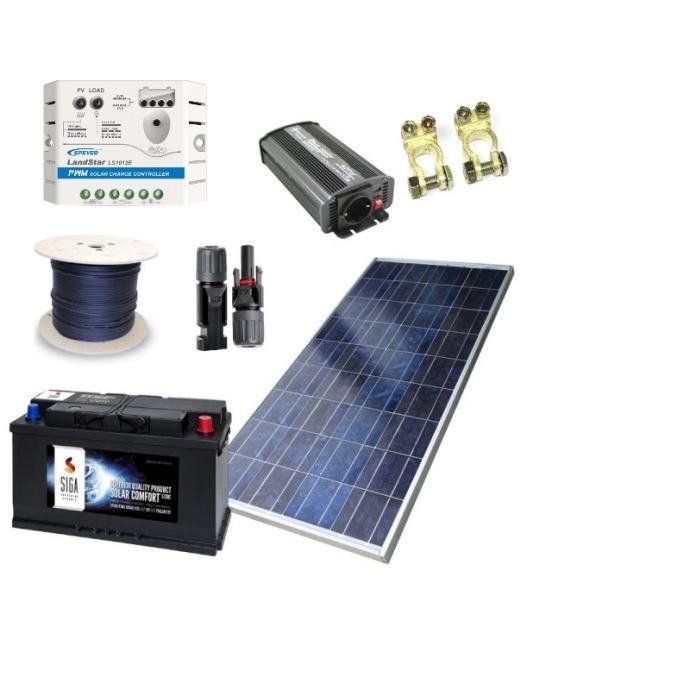 Solarni set za VIKEND 120 Ah -novo u ponudi!!