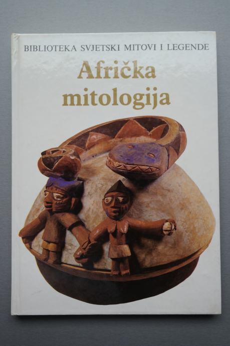 Geoffrey Parrinder - Afrička mitologija - knjiga - enciklopedija