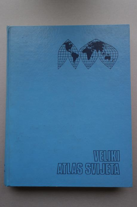 Veliki atlas svijeta - Mladinska knjiga - Zagreb