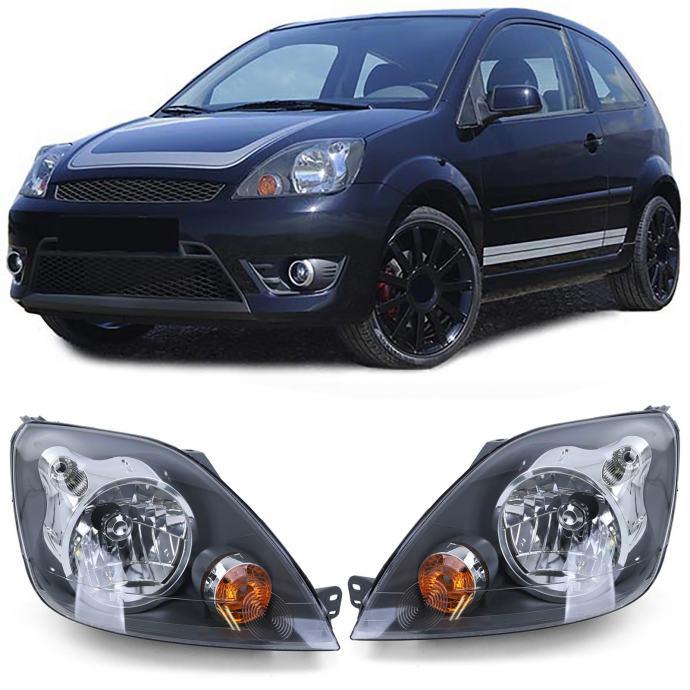 Ford Fiesta JH JD 2005-2007 farovi svjetla lampe H4 s motorićem set