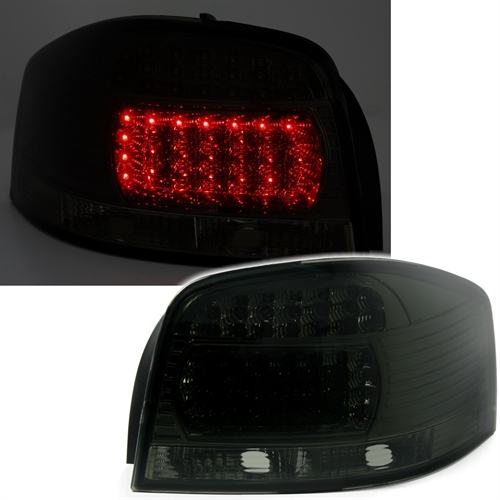 LED zadnja svjetla lampe Audi A3 8P smoke 2003 - 2008