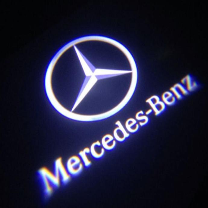 Mercedes-benz  LED Logo Projector Shadow Laser 2 kom.