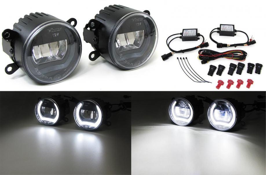 Suzuki Swift 3 III 4 IV 2005- LED maglenke s funkcijom dnevnog svjetla
