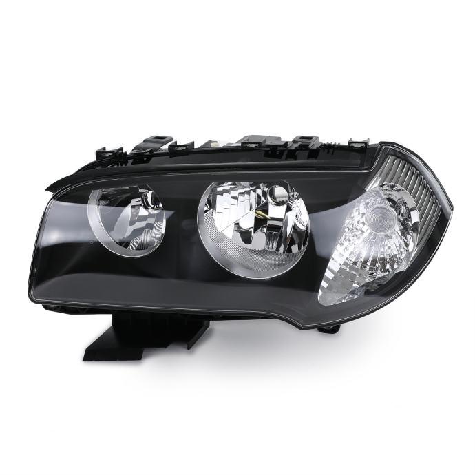 BMW X3 E83 2004-2006 far svjetlo lijevi crni H7 H7 s motorićem