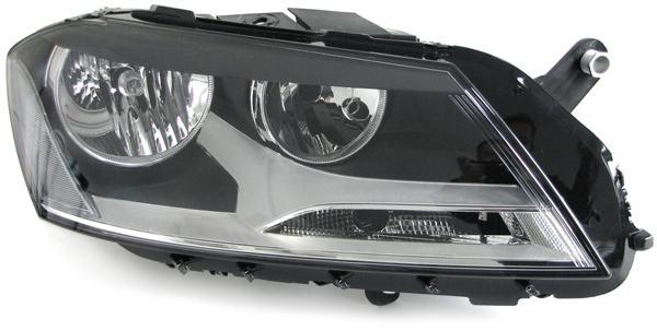 VW Passat B7 Typ 36 2010- far svjetlo lampa desni H7 H7 NOVO