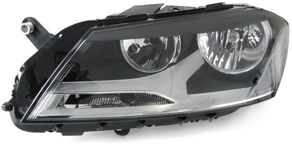 VW Passat B7 Typ 36 2010- far svjetlo lampa lijevi H7 H7 NOVO