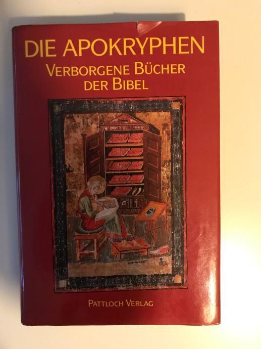 Die Apokryphen-verborgene bucher der Bibel